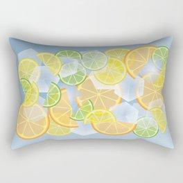 When life gives you citruses... Rectangular Pillow