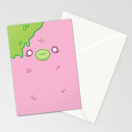 Pink Sewage Paul : Creepy but Cute Monster Series Stationery Cards