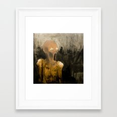 King Demon 2 Framed Art Print