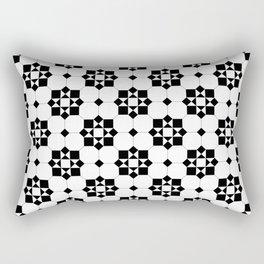Victorian Floor Tile Pattern 3 Rectangular Pillow
