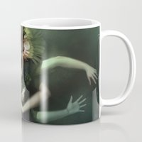 witch Mugs featuring Witch by Kelly Perry