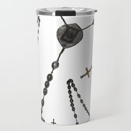 Wooden Rosary I Travel Mug