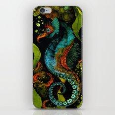 Seahorse in Blue iPhone & iPod Skin