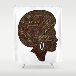 afro american Shower Curtain