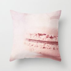 les petits macarons Throw Pillow
