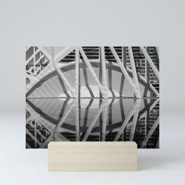 City of Arts and Sciences VI | C A L A T R A V A | architect | Mini Art Print