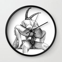 asc 623 - Le sacrifice du bouc (The performers I) First draft Wall Clock