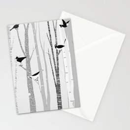 Winter Birds / 02 Stationery Cards
