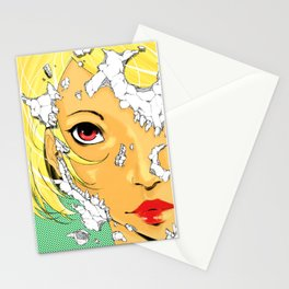 My favourite girlfriend is dead! Stationery Cards