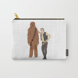 Han Solo and Chewbacca Carry-All Pouch