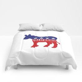 California Democrat Donkey Comforters