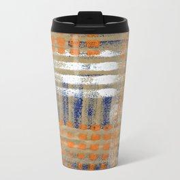 Street Plaid Travel Mug