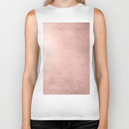 Blush Rose Gold Ombre Biker Tank