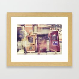 New York Newspapers Framed Art Print