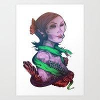 San La Muerte Art Print