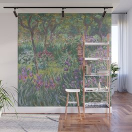 Monet's garden at Giverny Wall Mural