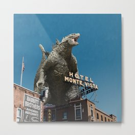 Gojira Visits Heart of America Metal Print