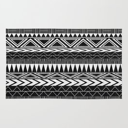 Tribal Monochrome. Rug