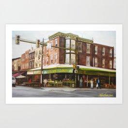 Italian Market Philadelphia Art Print