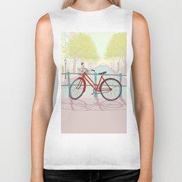 Amsterdam Canal Bike Biker Tank