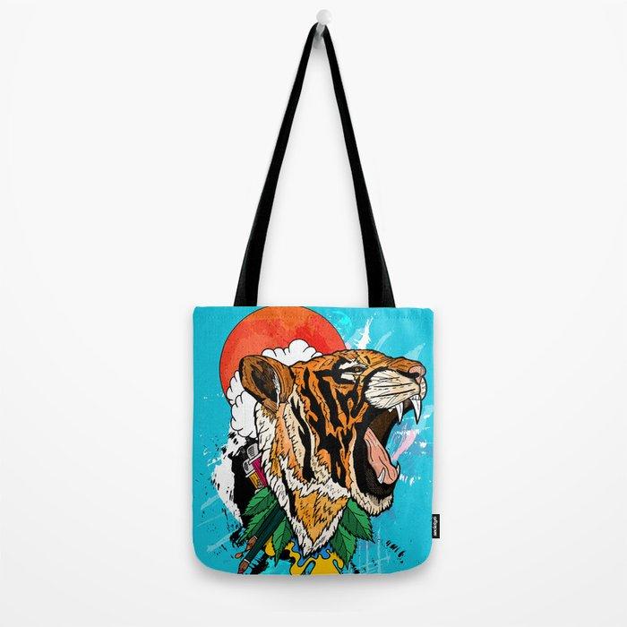 Tiger Roar 2 Tote Bag