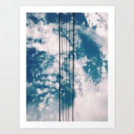 Air Guitar Art Print