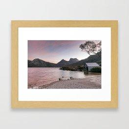 Evening at Dove Lake Framed Art Print