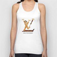 mike wrobel Tank Tops featuring Mike Frederiqo ® by CHESSOrdinary