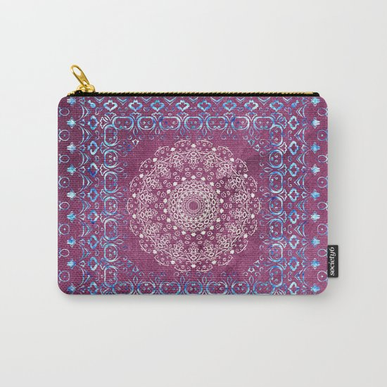 Old Bookshop Magic Mandala Carry-All Pouch