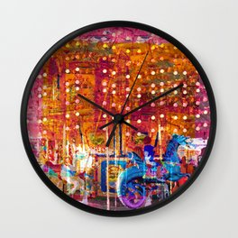 Today We Ride Angry Sea Dragons For Three Tickets Wall Clock
