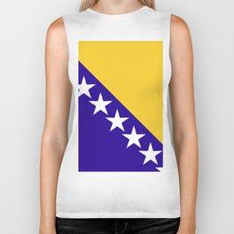 Bosnia and Herzegovina flag emblem Biker Tank