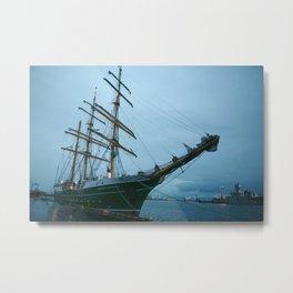 Ship to Iceland Metal Print