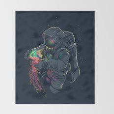 Jellyspace Throw Blanket