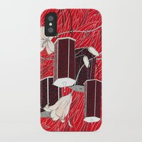 lantern iPhone & iPod Cases featuring Lantern by Anya Pany