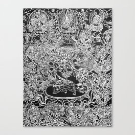 Permutations Canvas Print