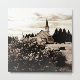 Gran Lutheran Church Metal Print