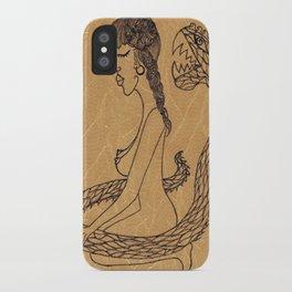 SnakeGirl iPhone Case