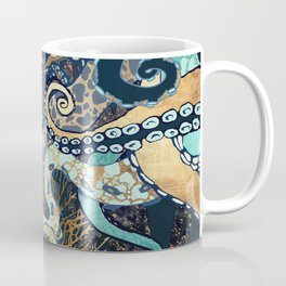 Metallic Octopus II Coffee Mug