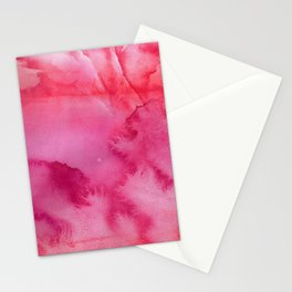 Pink Watercolor Palette Designs, Color Theories, Pastel, Boho Poster Stationery Cards