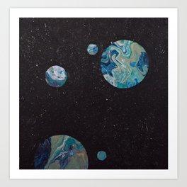 Every Shining Earth Art Print