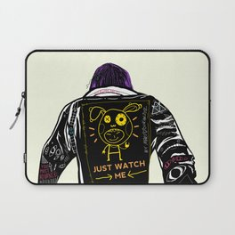 Just watch me Laptop Sleeve