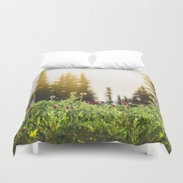 Mountain Meadow Flowers - 13/365 Duvet Cover