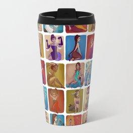 Zodiac pin-up Travel Mug