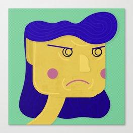 Unsatisfied Customer Eleven Canvas Print
