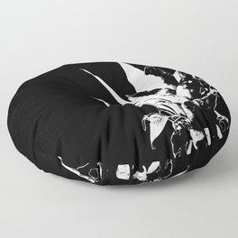 Pineapple Black and White #decor #society6 Floor Pillow
