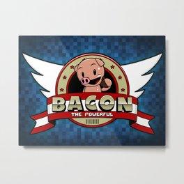 Bacon Metal Print