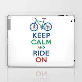 Keep Calm and Ride On Laptop & iPad Skin