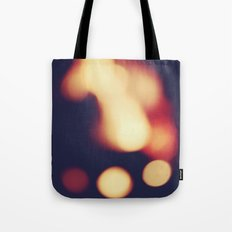 FIRE BLUR 2 Tote Bag