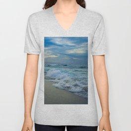 One Dream Sunset Hookipa Beach Maui Hawaii Unisex V-Neck