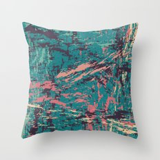 PAINTERLY II Throw Pillow